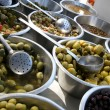 Green olives /cocktail/ — Stock Photo #2841322
