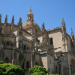 Stock Photo: Old cathedral in Segovia /Spain/