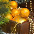 Happy New Year and Merry Christmas — Stock Photo #4980016