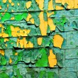 Texture of old paint — Stock Photo