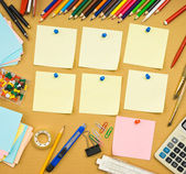 Diary of a student's school — Stock Photo
