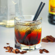 Stock Photo: Coffee cocktail with vodka