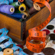 Sewing supplies — Stock fotografie #5109050