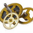 Gear of the clock - Stock Photo