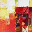Stock Photo: Abstract art-impasto