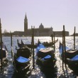 gondols in venice — Stockfoto
