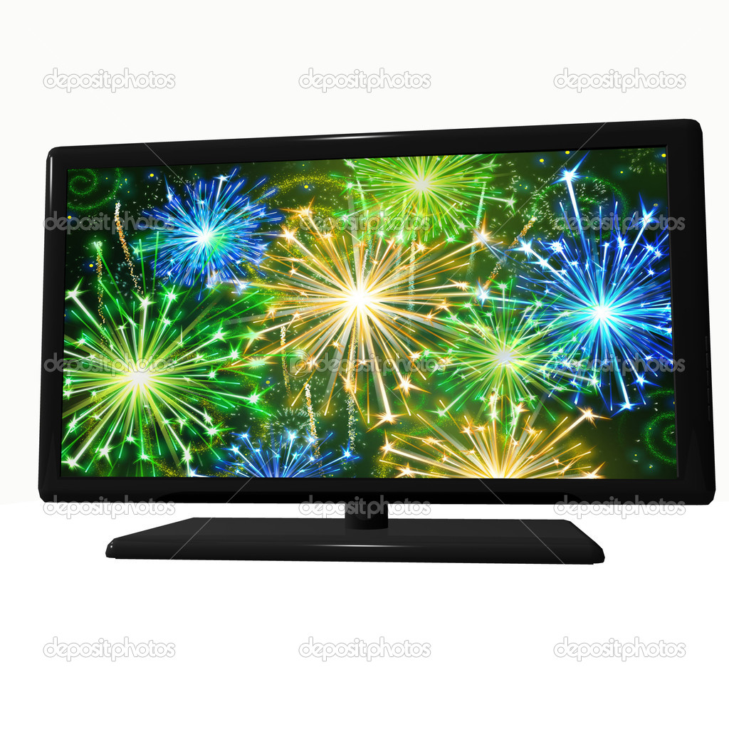 LCD TV — Stock Photo #2944265