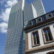 Stock Photo: Architectural diversity, Frankfurt
