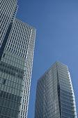 Two towers, Frankfurt am Main — Stock Photo