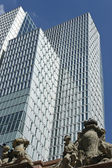 Ancient and modern, Frankfurt am Main — Stock Photo