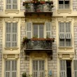 Stock Photo: Balconies, Nice, French Riviera