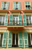 Balcony, Nice, French Riviera — Stock Photo