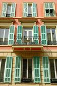 Balcony, Nice, French Riviera — Stock Photo