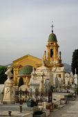 Municipal cemetery, Nice, French Riviera — Stock Photo