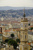 Turret clock, Nice, French Riviera — Stock Photo