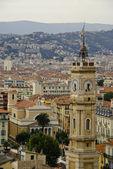 Turret clock, Nice, French Riviera — Stock Photo