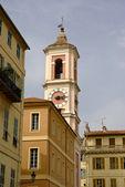 Pink church, Nice, French Riviera — Stock Photo