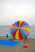Paraglider, Nice, French Riviera — Stock Photo