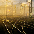 Confusing railway tracks — Stock Photo #2835352
