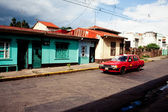 Street in San Jose, capital of Costa Rica — Stock Photo
