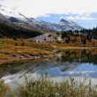 Jasper/Banff National Park in fall — Stock Photo