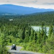 Stock Photo: North Canol Road, Yukon Territory, Canada