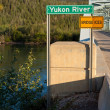 Yukon river bridge — Stock Photo #3893670