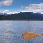 Tandem Kayak — Stock Photo
