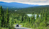 North Canol Road, Yukon Territory, Canada — Stock Photo
