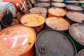 Oil barrels — Stockfoto