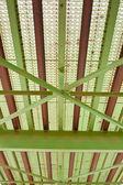 Steel bridge detail — Stock Photo