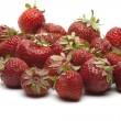 Stock Photo: Heap of strawberries