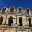Coliseum in El Djem - Tunisia - Stock Photo