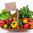 Vegetables Bio Arrangement — Stock Photo