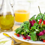 Fresh Green Salad — Stock Photo