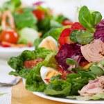 Fresh Tuna Salad — Stock Photo