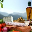 Stock Photo: Italien Food