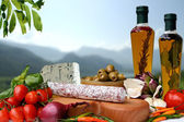 Italien Food — Stock Photo