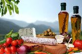 Italien Food — Stock Photo