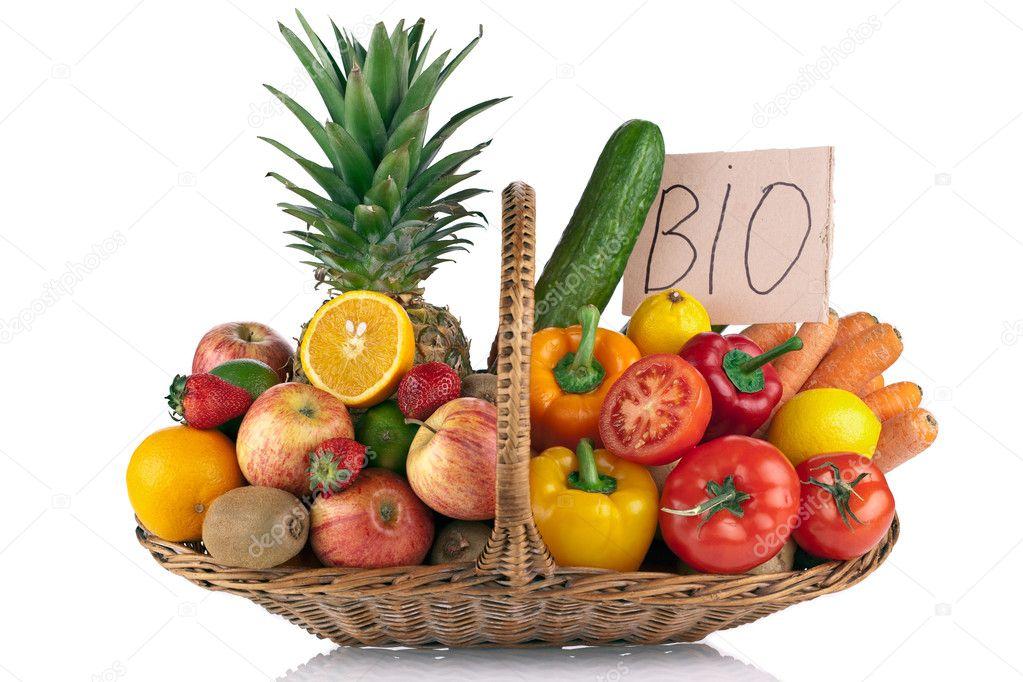 Fruits and Vegetables Arrangement � Stock Photo � marischka #2929385