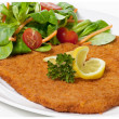 Stock Photo: Viennese schnitzel (escalope)