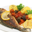 Grilled fish — Stock Photo #2974048