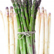 Bundle of asparagus — Stock Photo