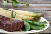 Grilled Steak — Stock Photo