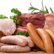Butcher Fresh Meat — Stock Photo #3093131