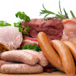 Butcher Fresh Meat — Stock Photo