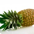 Ripe pineapple isolated — Stock Photo