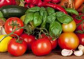 Produce Background — Stock Photo