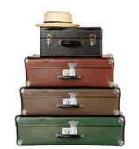 Four Suitcases — Stock Photo