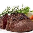 Grilled Beef Filet - Stock Photo